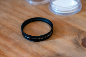 Canon 250D 52mm Close-Up Filter For Macro - 250 D - close up