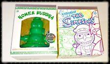 "KIDROBOT Jade Green 3"" Buddha Homer The Simpson's Series 2 Blindbox Figure NIB"