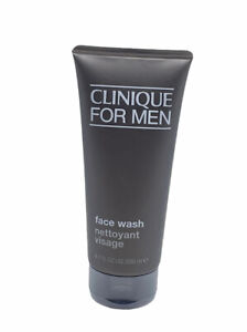 Clinique for Men Face Wash 6.7 oz / 200 ml Fragrance Free Soap New Sealed