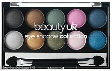 BEAUTY UK GLITZ NO.3 EYESHADOW COLLECTION SULTRY GLITTER SPARKLE NEW SEALED