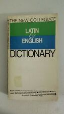 The new collegiate Latin & English dictionary Paperback – Import, 1966 by John C