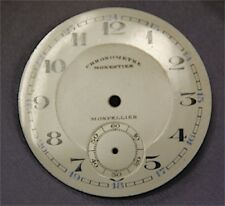 Dial Background pocket watch Email Enamelled Former Monpellier Chronometer 39