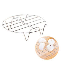Stainless Steel Cooling Rack Round Baking Food Kitchen Pressure Cooker Tool BDAU