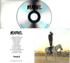 MATTIEL Mattiel 2018 UK 12-trk promo test CD