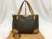 Auth Louis Vuitton Monogram Estrela MM M41232 2 way Shoulder bag 0C220070n""