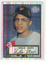 2001 Topps Archives Reserve #91 Willie Mays 52