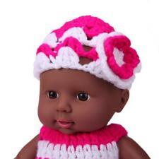 LIFELIKE Newborn Black/Brown/African BABY DOLL UK  Christening/Birthday GIFT