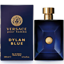 VERSACE POUR HOMME DYLAN BLUE by Versace 6.7 oz / 200 ml EDT Spray MEN NIB SEAL