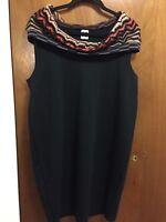 Beautiful MISSONI Knit Wool Sleeveless Dress Size: 50