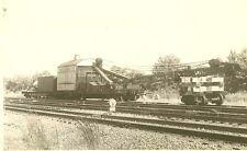 JJ195 RP 1940s? RAILROAD CRANE YOGT & CONANT CO #YC12 WHAT WHERE