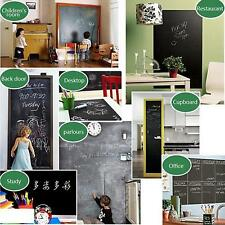 Chalk Board Blackboard Removable Vinyl Wall Sticker Decal 110 X 45cm