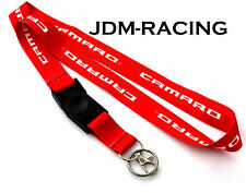 Chevrolet Chevy Camaro Lanyard Neck Phone Key Chain Strap Quick Release RED