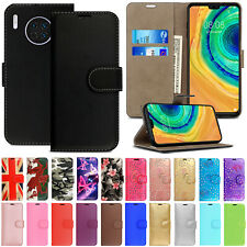 Case For Huawei Mate 30 Pro 20 Lite 10 Leather Flip Wallet Magnetic Stand Cover