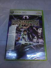 Phantasy Star Universe XBox 360 Game SEALED Sega Online PSU Fantasy US NTSC