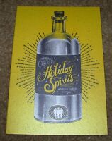 THIRD MAN RECORDS Spirits Holiday Card Postcard poster print Jack White Stripes