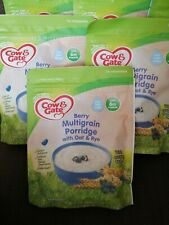 5 x Cow & Gate Berry Multigrain & Fruity Wholegrain Porridge 6 Months+ Baby Food