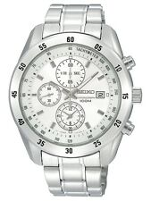 Scnp sndc41p1 Seiko Gents cronografo bracciale in acciaio inossidabile orologio