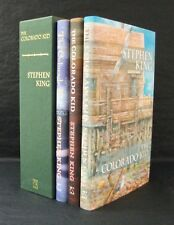 3 x COLORADO KID HAVEN Stephen King 3 x SIGNED LTD MATCHING NUMBER IN SLIPCASE