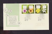 Australia 2010 Cocos Islands Flowers FDC J-483