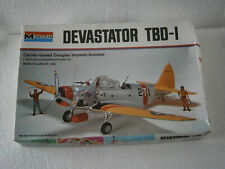 ANCIENNE MAQUETTE MONOGRAM AVION WW2 DEVASTATOR TBD - I  (1974)  VINTAGE 1/48