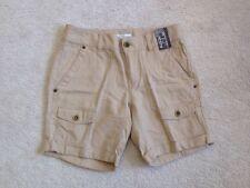 "Nwt New York & Company 7"" Cargo Shorts Beige Khaki Women's Size 0"