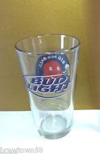 Bud Light Budweiser beer glass Anheuser-Busch Big Red Ball glasses 1 bar   HR9
