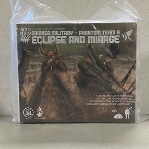 "Acid Rain OIA: Black Ops Phantom Team A (Mirage + Eclipse) 3.75"" Action Figure"