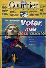 Courrier international 188 09/06/1994 Européennes Wole Soyinka