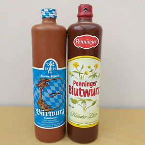 Penninger Blutwurz 50% Alkohol + Riemerschmid Bärwurz 38 % Alkohol Deutschland