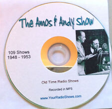Amos n Andy Show 1 CD 109 Shows-Old Time Radio-Comedy