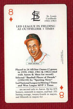 STAN MUSIAL 1991 US Games Systems Baseball Legends St Louis Cardinals HOF