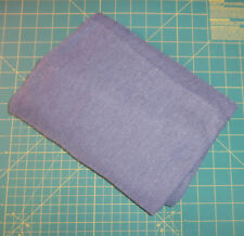"""1 Yard Blue Knit Fabric 4-Way Stretch Synthetic 60"""" Wide Acrylic Sweater"""