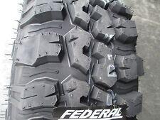 4 New 235/85R16 Inch Federal Mud Tires 235 85 16 2358516 85R R16 M/T MT