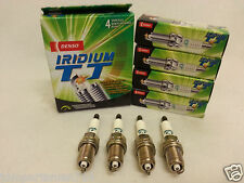 Denso Iridium TT Spark Plugs IXEH22TT / 4712 Made in Japan Set of 4