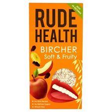 Rude Health Bircher - Soft & Fruity Muesli with Banana  Apple & Raisins 450g