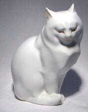"""Herend 4.1/2"""" seduta Bianco Persiano Gatto"""