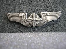 "UNIFORM INSIGNIA - U.S ARMY AIR FORCES FLIGHT ENGINEER WINGS - 2-1/2"" REPLICA"