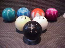 4 speed , Custom made in U.S.A. Shift knob, Reverse top left, Black 2""