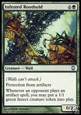 2x Radici Infestate - Infested Roothold MTG MAGIC DST Ita