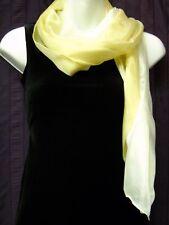 100% SILK Women's Dress Scarf in Multi Tones of Light Beiges 100% SILK Scarf