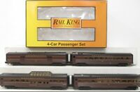 ✅MTH RAILKING PENNSYLVANIA 60' STREAMLINED 4 CAR PASSENGER SET! FITS LIONEL
