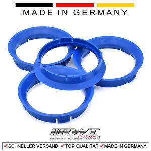 4 Zentrierringe 63,3 x 57,1 für ALUTEC RIAL ATS PLW CMS DBV Proline VW AUDI(#13)