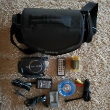Sony Hdr-ux5 Handycam With Sony 1GB Media Memory Stick Duo two batteries