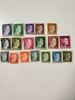 Stamps Deutsche Reich Lot 18