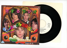 """THE ROLLERS 7"""" PS Japan TURN ON THE RADIO bay city rollers Promo a3961"""