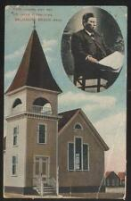 Postcard SALISBURY Massachusetts/MA  Rev Jacob F Spalding's Hope Chapel 1907