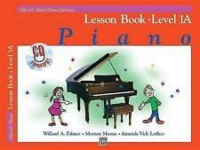 Alfred's Basic Piano Course: Lesson Book, Level 1A (Alfred's Basic Piano Library
