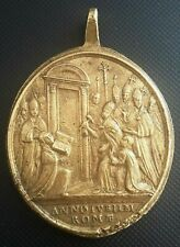 ROME - Grande médaille ancienne de Saint Pierre en superbe état TRES RARE ! +++