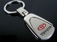Toyota Stainless Keyring Key Ring Chain 86 Camry Corolla Yaris Prius Rav4 Hilux