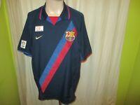 "FC Barcelona Original Nike Auswärts Trikot 2002-2004 ""ohne Hauptsponsor"" Gr.XL"